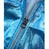 Ankara light blue laminated leather SS22